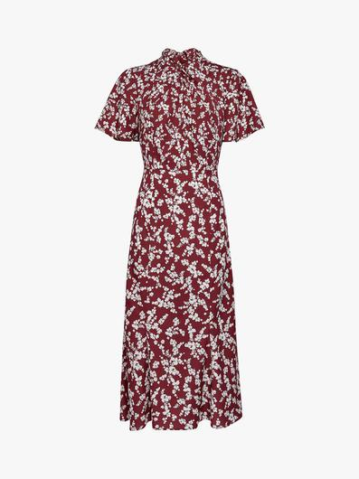 Printed dress, €185 from French Connection