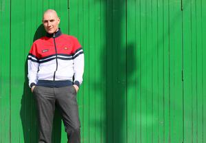 Fashion forward: Alexander Fitzgerald wears an Ellesse tracksuit top (€70, Life Style Sports)