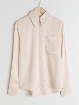 Cream shirt, €79 from & Other Stories