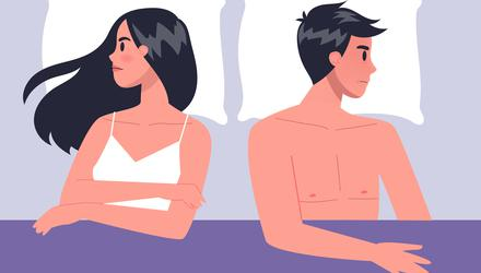 'We watched porn together and while it sometimes got her in the mood, once things happened she often lost focus'