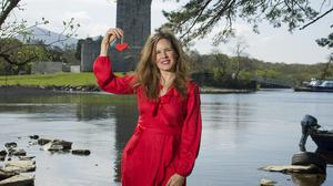 Dating coach Frances Kelleher pictured near her home at Ross Castle, Killarney, Co Kerry. Photo: Don MacMonagle