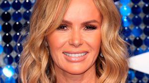 """Amanda Holden, 50, has said in an interview that she still enjoys """"primal sex"""" with her husband, Chris Hughes. Photo: Lia Toby/PA"""