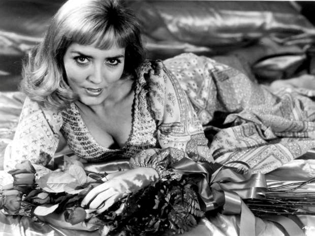 Happy days: Xaviera Hollander in 1975 in her heyday as a brothel-owner and self-proclaimed queen of kitsch.