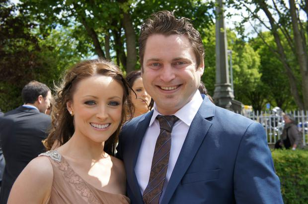 Friends were suprised that Aoife Kelly was not longer a commitment-phobe.
