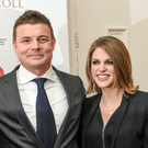 Good-looking and successful, no wonder Brian O'Driscoll and Amy Huberman are a perfect pair. Photo: Matt Browne/Sportsfile