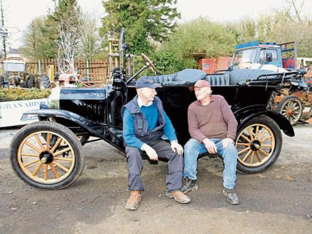 In 1916, this Ford Model T was brand new and owner Larry Kiernan must have been proud when he picked up Michael Collins at Ballywillan train station in Longford - though wary of being spotted during those turbulent times of the Rising..