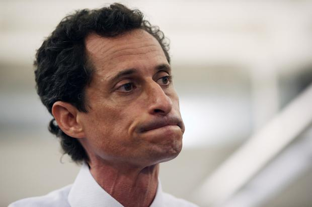 New York politician Anthony Weiner who paid the price for his indiscretions