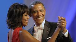Obama care: Michelle and Barack Obama met while working at a law firm