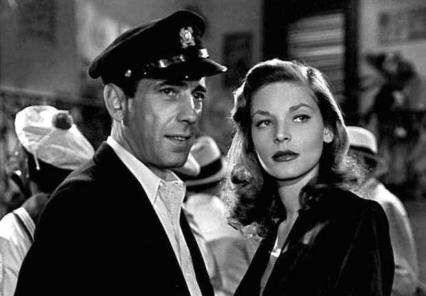 Whistle while you work: Bogart and Bacall in To Have and Have Not