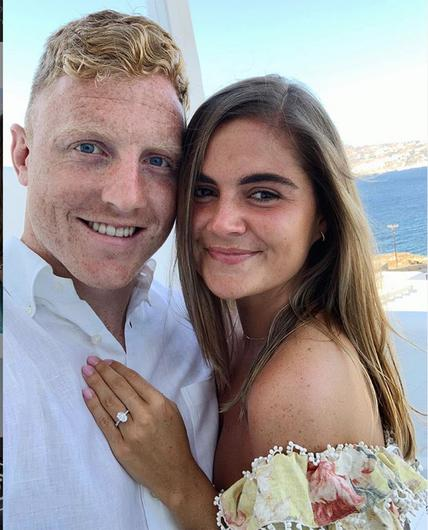 Ashley and James in Mykonos