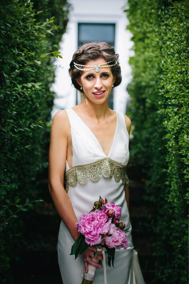 Gillian on her wedding day - by SOSAC photography