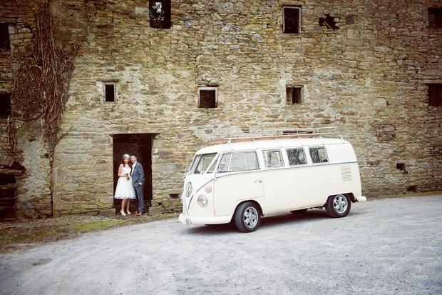 Elma and Michael's wedding at Kinnitty Castle, Photography: Anna and Tom of Couple Photography, couple.ie