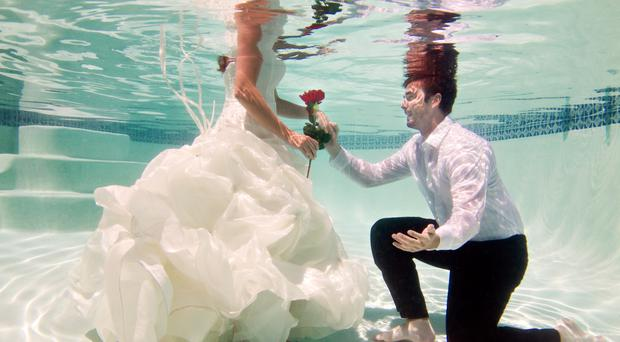 Over it: viral wedding videos have had their day in the sun. Photo: Getty