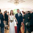Deirdre and Michael on their wedding day. Photography by Couple Photography visit couple.ie