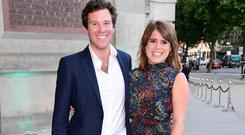 Princess Eugenie and Jack Brooksbank (Ian West/PA)