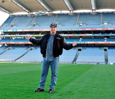 Garth Brooks will play five consecutive concerts at Croke Park this summer