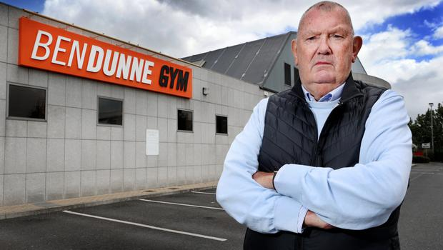 Ben Dunne outside his Ben Dunne Gym at Westpoint in Blanchardstown. Photo by Steve Humphreys 23rd May 2020