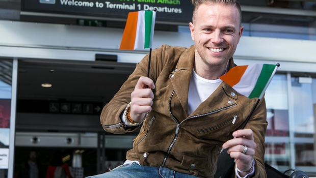 Nicky Byrne represented Ireland in the 2016 Eurovision