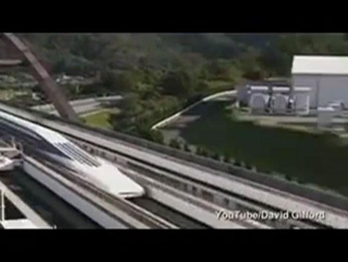 Footage of Japan's Bullet train at 311mph
