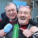 Brendan O'Carroll and Joe Duffy