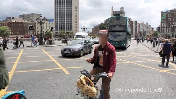 These are the types of behaviour we caught on camera in just two hours in Dublin city centre.