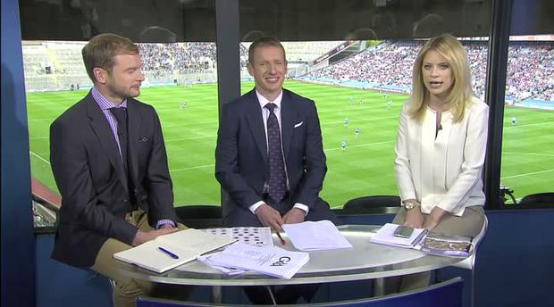 The Sky Sports team were great sports throughout the three-minute video.