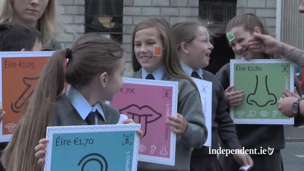 Stefan Perju (9), Aliyah Flood (10), Tia Fitzgerald (10), Mary Stokes (10), and Tamzin Kelly (9)