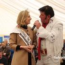 Rose of Tralee Elysha Brennan will make another appearance at the Ploughing Championships on Thursday