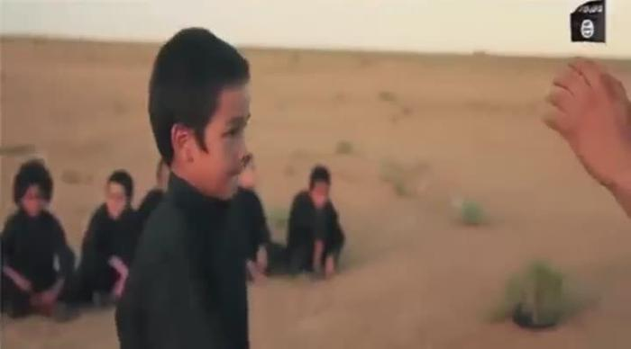 VIDEO: Isis child soldiers filmed executing prisoners after video  game-style maze race