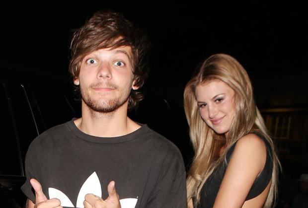 Louis Tomlinson and Briana Jungwirth. Photo: Xposurephotos