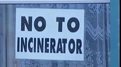 Locals have previously protested against the project