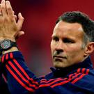 "Britain Football Soccer - Crystal Palace v Manchester United - FA Cup Final - Wembley Stadium - 21/5/16 Manchester United assistant manager Ryan Giggs celebrates after winning the FA Cup Reuters / Dylan Martinez Livepic EDITORIAL USE ONLY. No use with unauthorized audio, video, data, fixture lists, club/league logos or ""live"" services. Online in-match use limited to 45 images, no video emulation. No use in betting, games or single club/league/player publications. Please contact your account representative for further details."