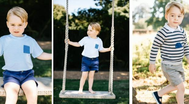 Prince George - new pictures released for 3rd birthday