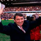 File photo dated 09-02-2002 of Aston Villa's new Manager Graham Taylor is welcomed back to Villa Park before their match at Villa Park. PRESS ASSOCIATION Photo. Issue date: Thursday January 12, 2016. See PA story SOCCER Taylor. Photo credit should read Nick Potts/PA Wire.