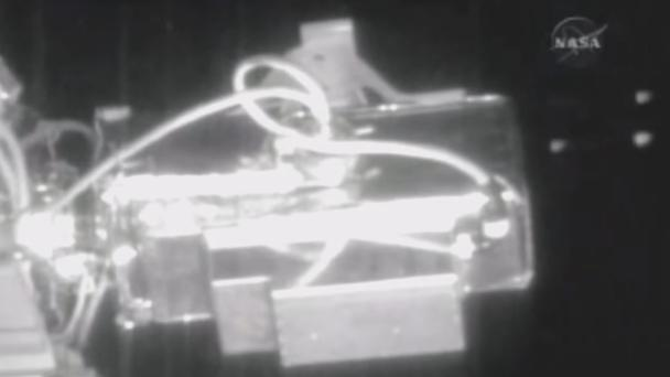 Six UFOs 'creep past' International Space Station before NASA 'cuts live feed'