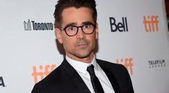 Colin Farrell attends a premiere for