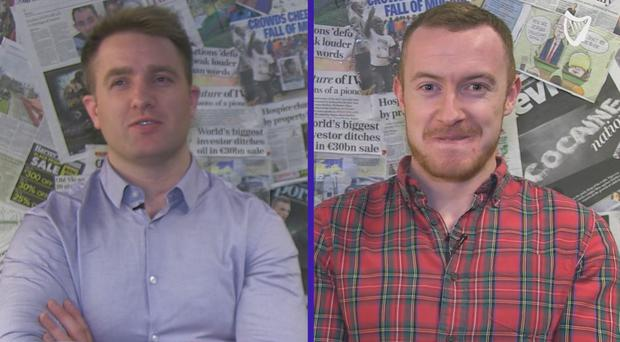 Luke Fitzgerald and Will Slattery go head-to-head.