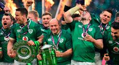 Ireland's Rory Best had signed a new deal with the IRFU