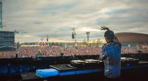 LONDON, ENGLAND - JULY 20: Avicii performs at the Electric Daisy Carnival: London 2013 at Queen Elizabeth Olympic Park on July 20, 2013 in London, England. (Photo by Jeff Lombardo/Getty Images)