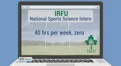 IRFU withdraws job advertisement for unpaid internship