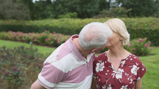 Brendan and Lorna Enright have tended to the 6,200 different rose bushes in the famous Rose Garden