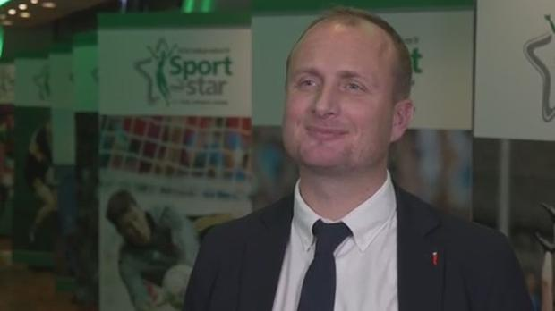 Ireland women's hockey head coach Graham Shaw.