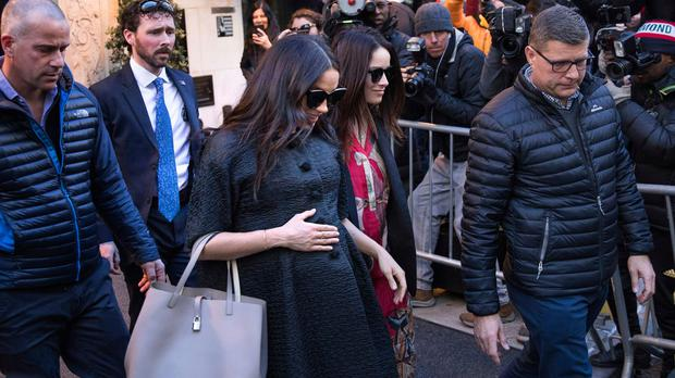Watch Meghan Markle In Nyc For Baby Shower