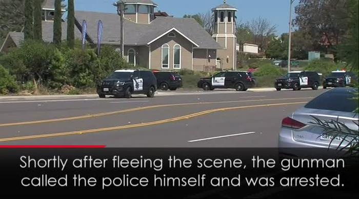 VIDEO: One dead and three injured in US synagogue shooting