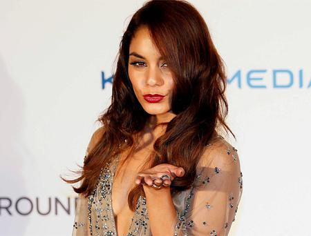 Actress Vanessa Hudgens poses at the UK Premiere of