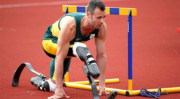 Paralympic champion Oscar Pistorius has resumed a 'low-key' training routine