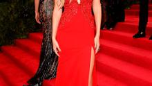 """Gigi Hadid attends the """"China: Through The Looking Glass"""" Costume Institute Benefit Gala at the Metropolitan Museum of Art on May 4, 2015 in New York City.  (Photo by Dimitrios Kambouris/Getty Images)"""
