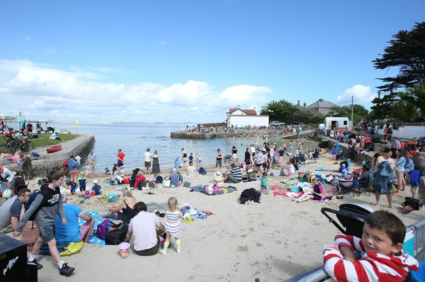People are expected to flock to the beaches this weekend with temperatures set to soar. Stephen Collins/Collins Photos