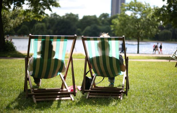 Weekend set to sizzle with highs of 28C after Friday was hottest day of the year so far