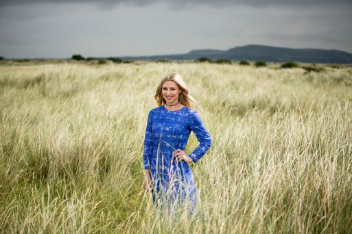 Louise Bowden is glad to be home with new projects. Photo: Mark Condren